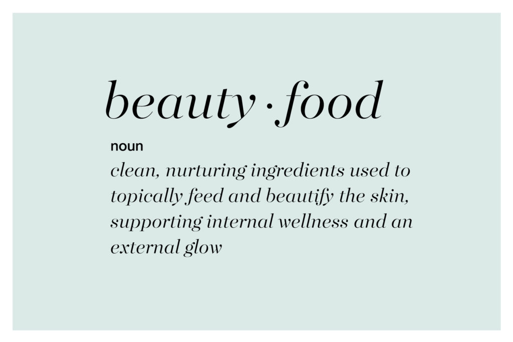 Beauty Food, Defined