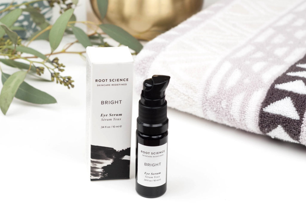 Get the most out of Root Science's Bright Eye Serum