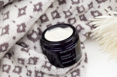 Get the most out of Kahina's Moisture Mask