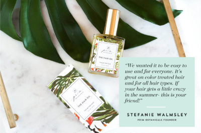 Get the most out of Prim Botanicals' The Hair Oil