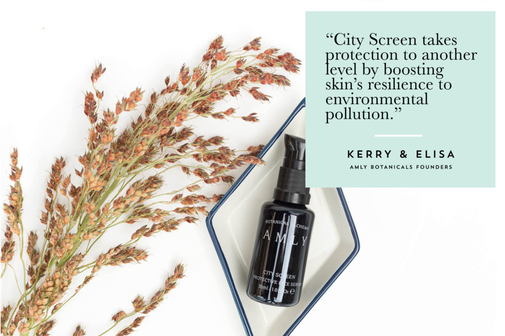 Tips + Tricks AMLY Botanicals City Screen Protective Face Serum