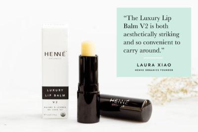Tips + Tricks Henné Organics Luxury Lip Balm V2